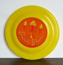 Vintage Friendly Flyer Frisbee ,  Friendly's Restaurant Advertising Merchandise