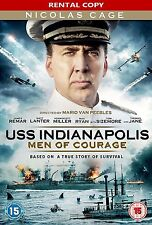 USS Indianapolis Men Of Courage DVD ** NEW & SEALED RENTAL EDITION, CHEAPER ! **
