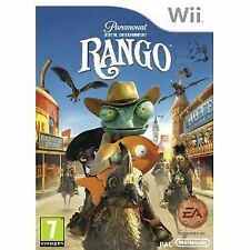 Nintendo Wii EA Games Spiel Rango - Das Videospiel Neu