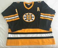 New 100% Authentic 56 Boston Bruins Mitchell & Ness 1988-89 #8 Neely Jersey