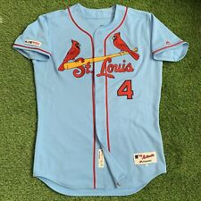 Yadier Molina St. Louis Cardinals Team Issued Jersey 2019 MLB Authenticated