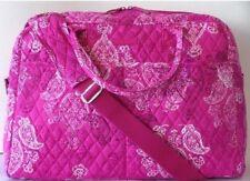 Vera Bradley Weekender Travel Bag Stamped Paisley Pattern Quilted Luggage 14413