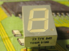 TDSR5160 G   7 SEGMENT DISPLAY RED COMMON CATHODE  TFK 2pcs
