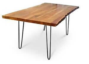 Lisbon Outdoor Live Edge Acacia Dining Table - 1.8M or 2M