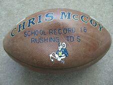Vtg USNA US Naval Academy CHRIS McCOY GAME FOOTBALL 1996 ALOHA BOWL CHAMPS