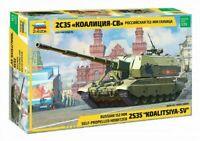 "Resin Kit SMODEL E037 1:35 Self-Propelled Gun /""Sekston/"" Mk.II"