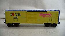 LIONEL 6-19901 I Love Virginia Box Car LN