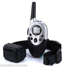E613 Waterproof 1000m Remote Control Pet Dog Anti Bark Shock Collar US PLUG