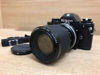 *OPT Mint* Nikon EM SLR Camera w/ Ai-s Zoom Nikkor 35-105mm F/3.5-4.5 Lens JAPAN