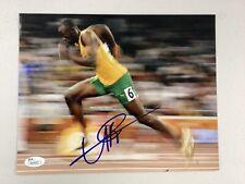 Usain Bolt Signed Photo 8x10 Autograph Olympics Track Gold Medal Runner JSA