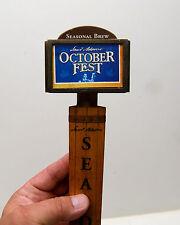 October Fest Sam Adams Seasonal Beer Tap Handle Bar Pub Man Cave