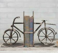 Distressed Vintage Bicycle Bookends