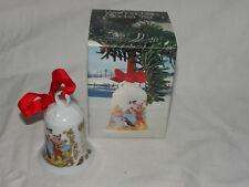 Hutschenreuther Weihnachtsglocke 1989 Vogelfelsen + Originalkarton    #2318