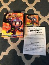 Vintage Interplay 1997 Atomic Bomberman PC Big Box Complete Windows 95