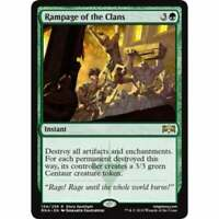 MTG Ravnica Allegiance - Rampage of the Clans - NM Card