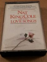 Nat King Cole Greatest Love Songs : Vintage Tape Cassette Album From 1982