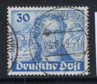 Berlin 1949 Mi. 63 Gestempelt 100% 30 Pf, Goethe, Stieler