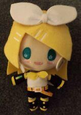 Hatsune Miku Expo 2014 - Plush Toy w/Strap - New, Expo Exclusive - KAGAMINE RIN