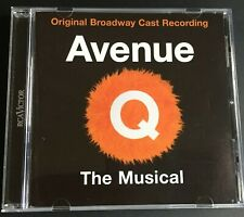 Avenue Q The Musical CD Original Broadway Cast Like New Free Post
