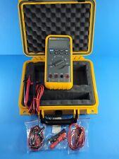 Fluke 83 Iii Trms Multimeter Screen Protector Excellent Hard Case More