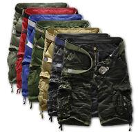 2016 Fashion Mens Casual Cargo Chino Shorts Multi Pocket Pants Sports Trousers