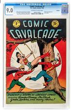 Comic Cavalcade #7 Rockford pedigree (DC, 1944) CGC VF/NM 9.0 Wonder Woman Flash
