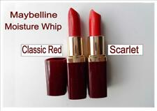 MAYBELLINE Moisture Whip lipstick bright RED shade SCARLET CLASSIC RED 50s