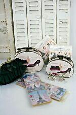 9 tlg. Geschenk Paket Paris Koffer Untersetzer Serviettenringe + Gratis Tasche