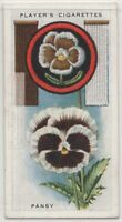 Pansy Blooming Flower Plant 1930s  Ad Trade Card