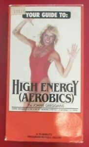 High Energy (aerobics) by Joanie Greggains - (VHS 1985)