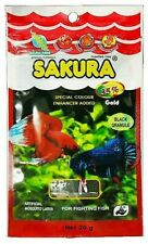Sakura Fish Food for Betta 20 g. Zip Seal up health and color