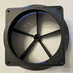 """Antminer T9 S1 S3 S5 S7 S9 A3 D3 L3 V9 X3 6"""" 120mm High Temp Fan Duct Shroud"""