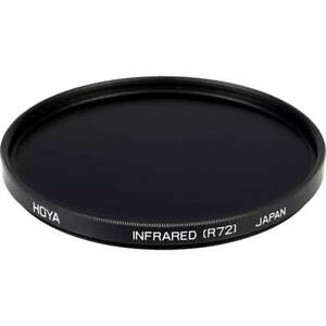 HOYA 67mm R72 INFRARED Filter - Allowing only Infrared Light Through