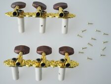 Classical Guitar Tuning Pegs Machine Heads Tuner Brown M4L2