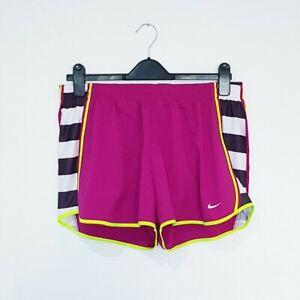 BNWOT Nike Pink Black White Dri Fit Gym Running Shorts Size Medium RRP £39.95