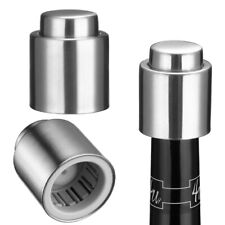 Wine Bottle Stopper Plug w/ Vacuum Champagne Seal Winery Sealer Preserver Saver