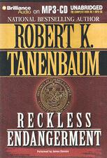 Audio book - Reckless Endangerment by Robert K. Tanenbaum   -   MP3-CD