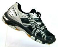 ASICS Silver/Black Gel-Rocket Athletic Running Sneakers B053N Women 10.5 EU 42.5