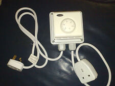 THERMOSTAT FOR GROW ROOM / TENT / GREENHOUSE HEATER STAT FREE POSTAGE