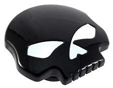 Black Skull Gas Cap Vented Fuel Cap for Harley XL & Big Twin Gas Tank Cap 84-13