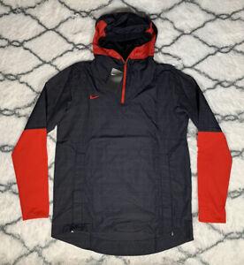 NIKE Football Lightweight Player Jacket Black Red Sz M *NEW* CI4477-013 $95