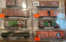 N Scale Candian National Heritege Fallen Flag Microtrains MTL Runner pack Lot CN