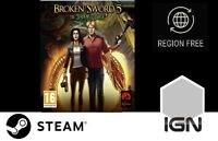 Broken Sword 5 - The Serpent's Curse [PC] Steam Download Key - FAST DELIVERY
