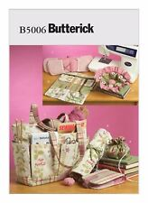 Butterick Sewing Pattern B5006 Sewing and Knitting Tote Bag and Accessories