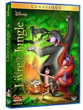 DVD *** LE LIVRE DE LA JUNGLE *** ( Walt Disney N°22)