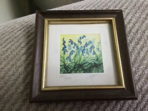 Signed + Numbered Limited Edition Framed Kathleen Freeth Miniature Print #231 (J
