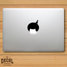 Afro hair with a Comb Macbook Sticker / Macbook Decal / Cover / Skin