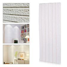3D DIY Stone Tile Textured Self Adhesive Embossed Flexible Wall Sticker Paper