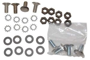 68-72 Chevy II Nova Front Bumper Bolt Set Stainless Steel Capped Bolts 32 Pieces