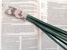 MILITARY SERIES 6 ribbon bookmark multi page US ARMY handmade digital camo